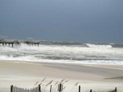 Orange Beach Isaac Photos_Huge waves