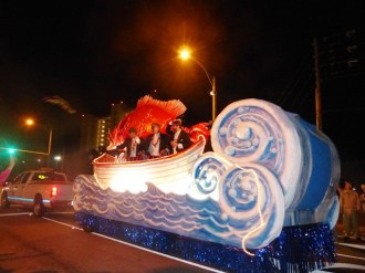 Orange Beach Mardi Gras 2013 Mystical Order of Mirams Parade 18