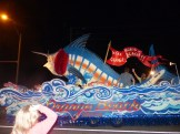 Orange Beach Mardi Gras 2013 Mystical Order of Mirams Parade Marlin Float
