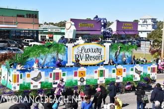 Gulf Shores Mardi Gras Day Parade 2016