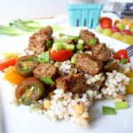 TERIYAKI TEMPEH WITH MIXED GRAINS