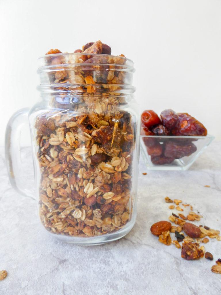 dates gluten free granola