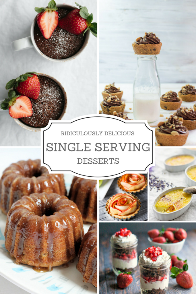 individual serving delicious dessert for any occasion