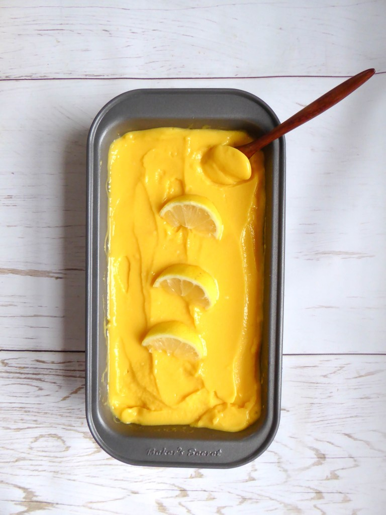 Super  Refreshing Mango Sorbet - perfect healthy indulgence for warm days, vegan and sugar free