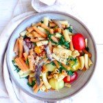 8-MIN IMMUNE BOOSTER PASTA - Vegan easy and quick meal for everyday lunch or dinner