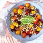 SUN DRIED TOMATO QUINOA BOWL | Vegan | Quick