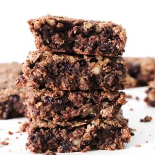 Banana Chocolate Bars - Gluten-free and vegan indulgence, low in sugar and high in flavor!