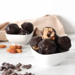 COOKIE DOUGH BALLS - healthy vegan and gluten-free delicious comforting snack and dessert