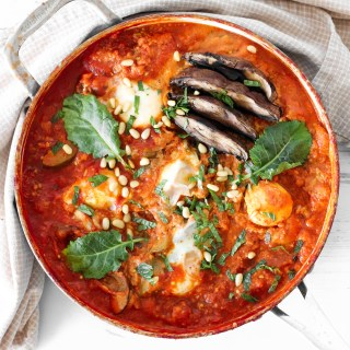 Vegetable Shakshuka - healthy and easy complete meal, high in flavors and nutrients