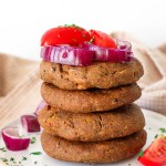 Black Bean Burger - Healthy patties high in protein and fiber, ideal for meal prep or burger parties.