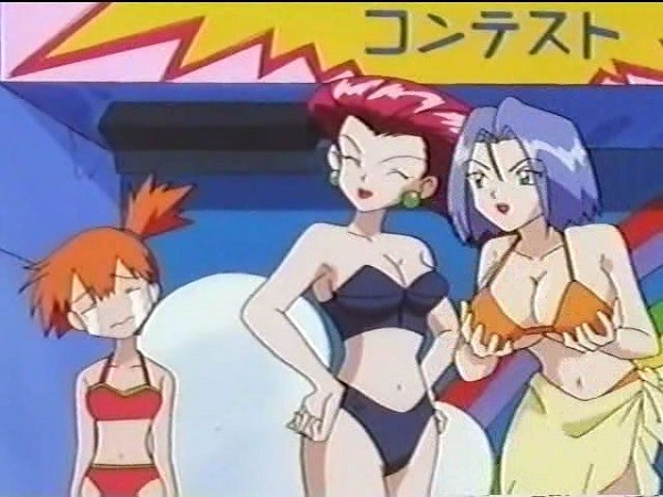 Pokémon features Musashi and Kojirou
