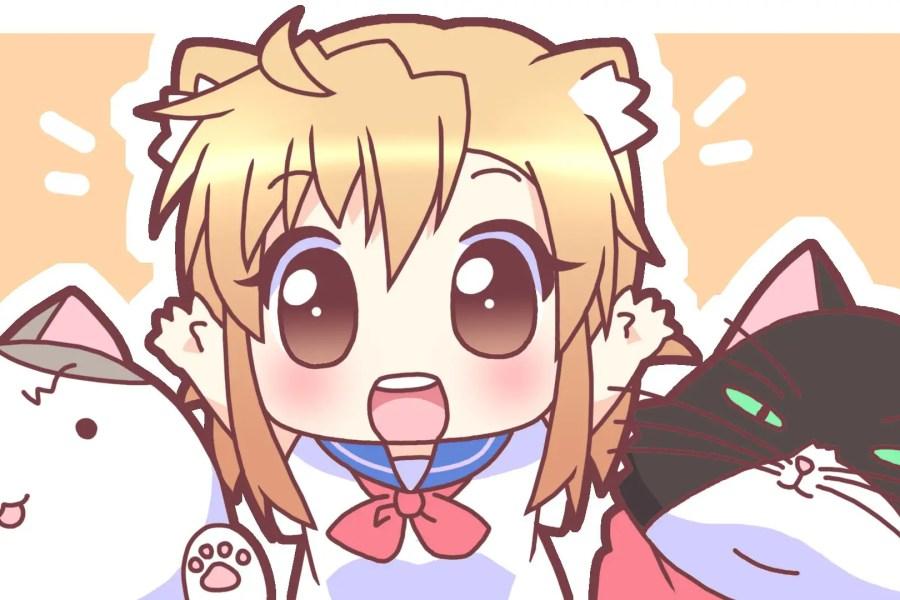 cute anime animals