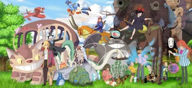 Anything Studio Ghibli