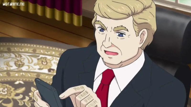 Donald Trump Anime