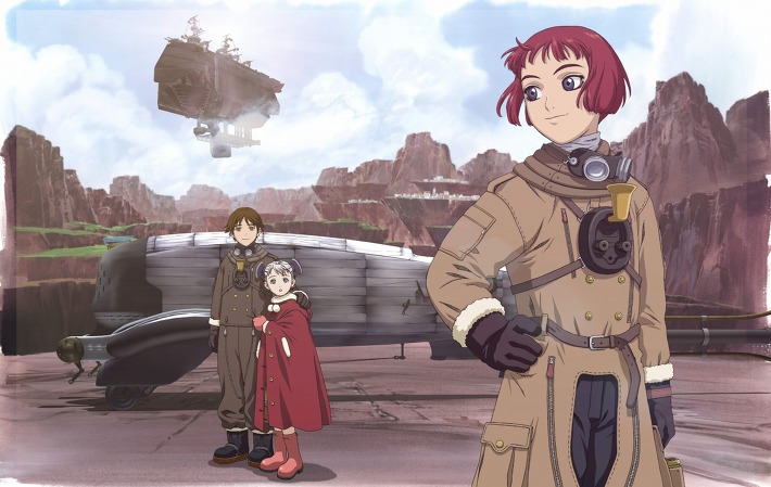 Last Exile star wars as anime