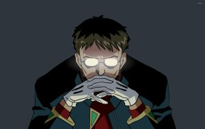 Gendo Ikari anime villains cover