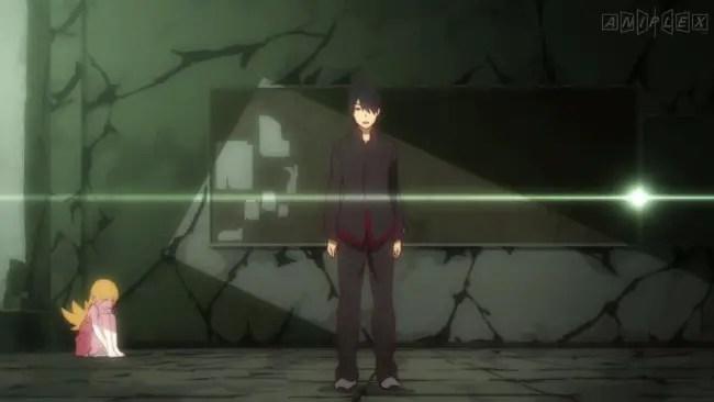 Koyomimonogatari (Episode 1; Koyomi Stone)