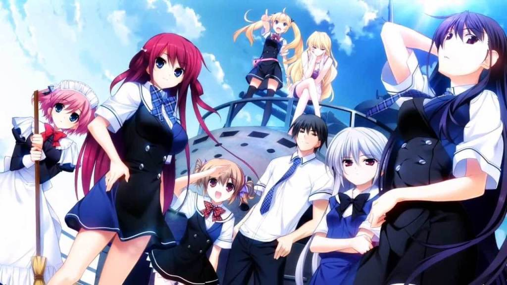 The Eden of Grisaia visual novels