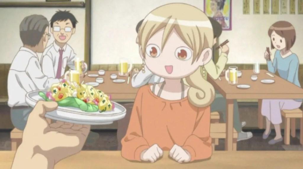 Wakako-zake food anime