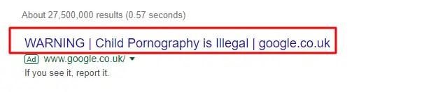 loli anime warning google
