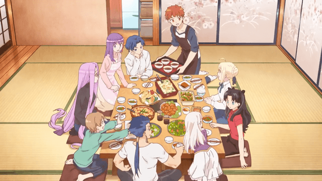 food anime cover