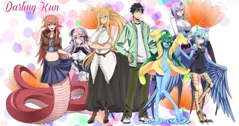 Everyday Life with Monster Girls– 2012- ecchi harem comedy
