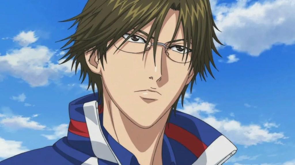 Kunimitsu Tezuka anime boy with glasses