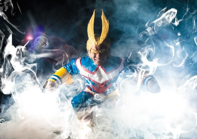All Might cosplay
