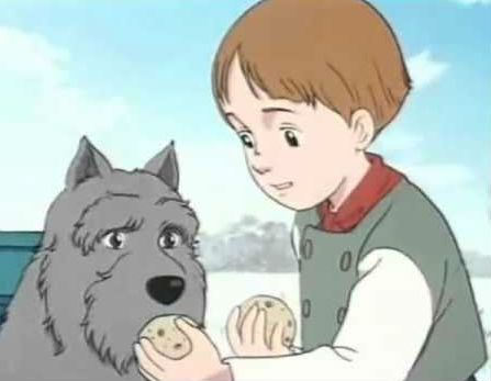 Patrasche (A Dog of Flanders) – 81 votes anime pets