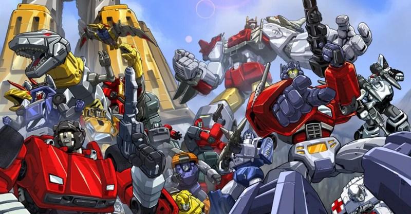 The Transformers mecha anime