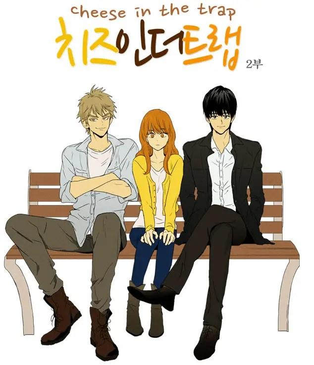 Cheese in the Trap Manhwa Manga Series
