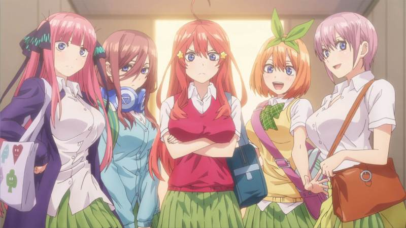 sexy anime school girls