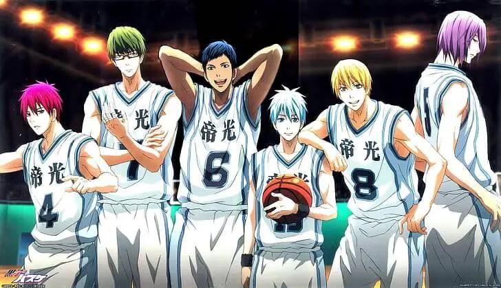 Kuroko No Basketball anime