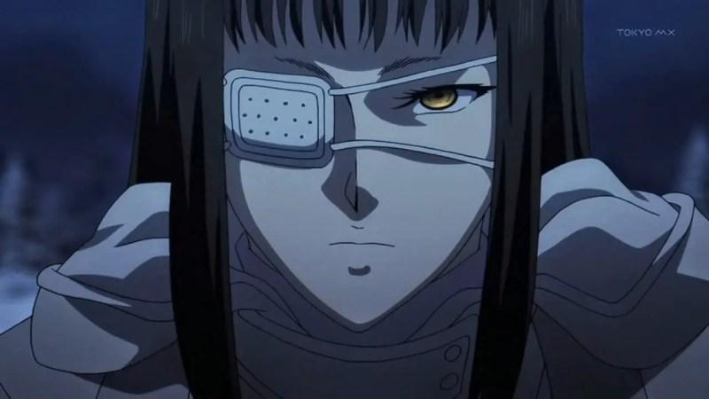Sofia Valmer anime girl with eye patch