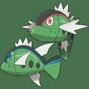 Basculin fish pokemon