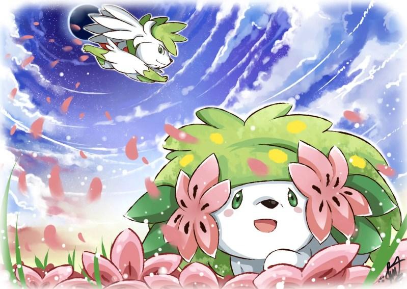 Flower Pokemon