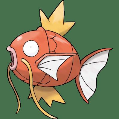 Magikarp fish pokemon