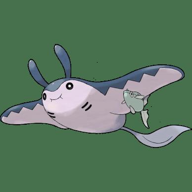 Mantine fish pokemon
