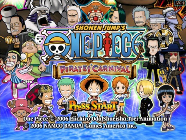 One Piece: Pirates' Carnival (2006) one piece games