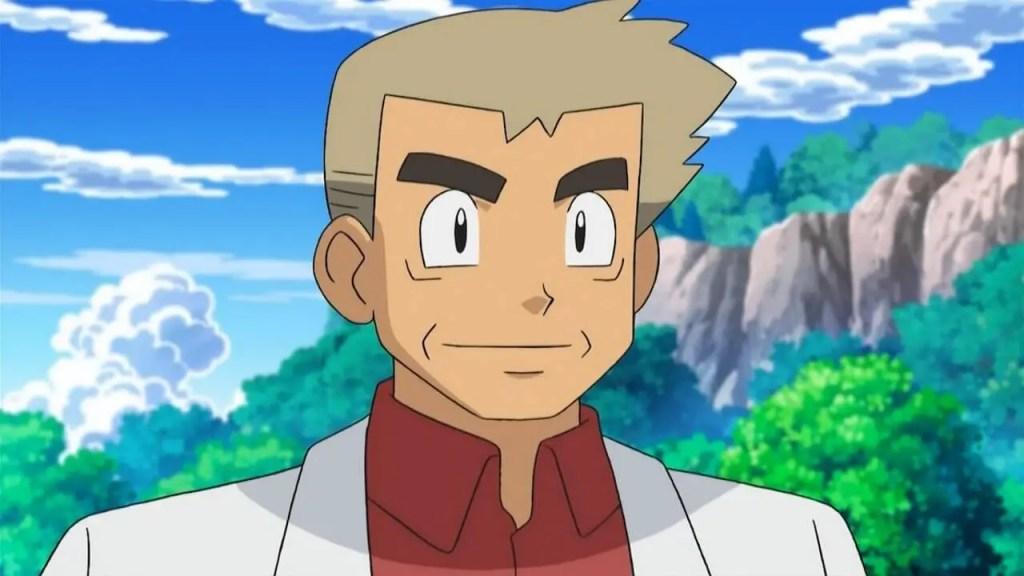 Professor Oak From Pokémon