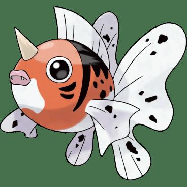Seaking fish pokemon
