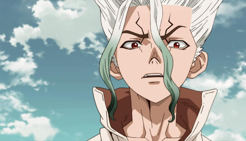 Senku From Dr. Stone