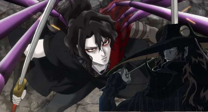 Vampire Hunter D 1980s anime