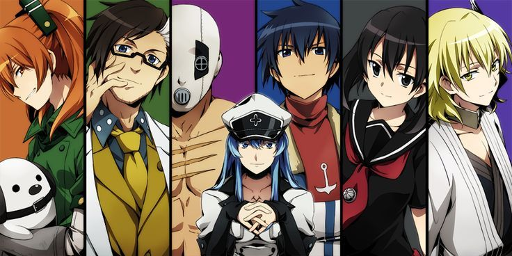 Akame Ga Kill Characters