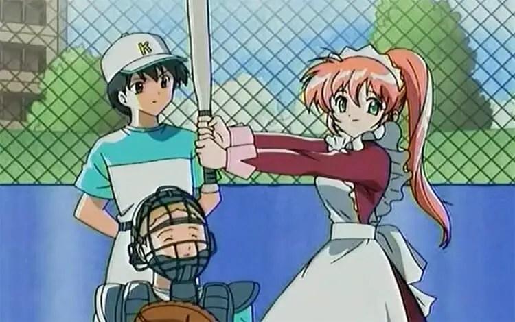 Azusa, Otetsudai Shimasu! baseball anime