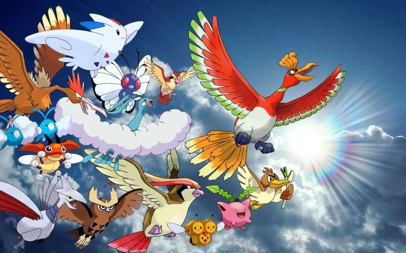 55 Fascinating Bird Pokemon