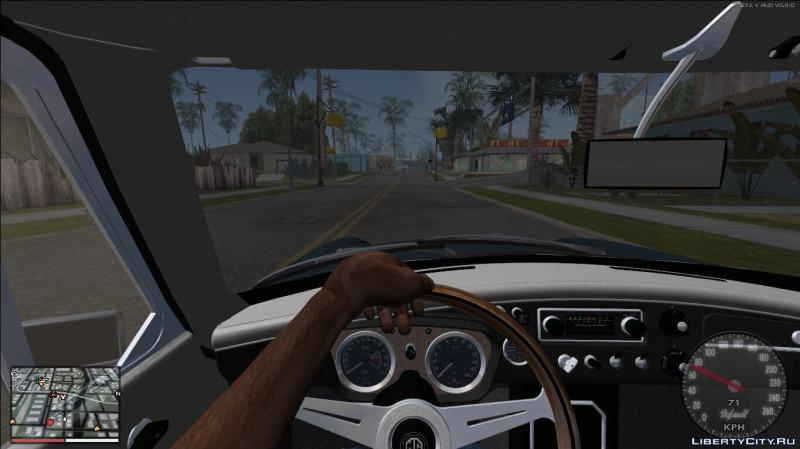 San Andreas First Person Mod