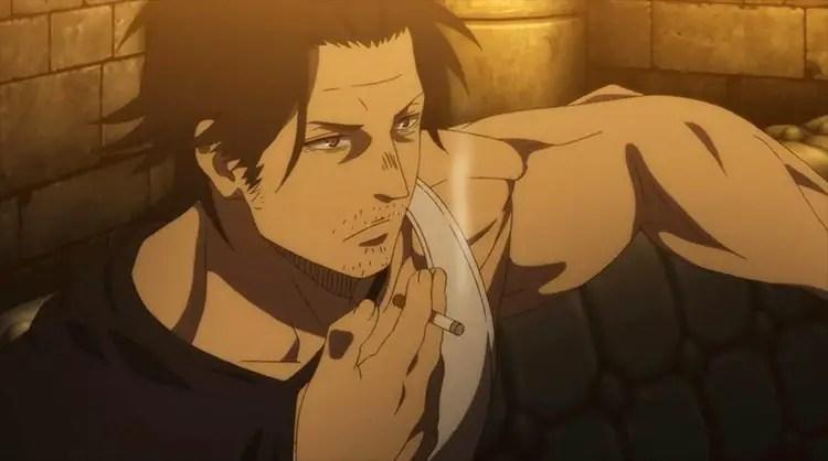 Yami Sukehiro Muscular Anime Characters