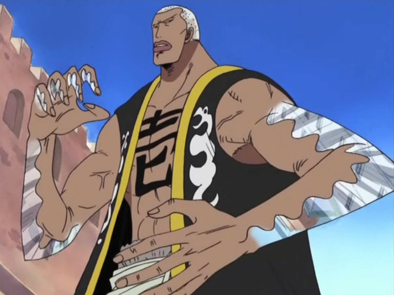 Daz Bones From One Piece - Alabasta Arc