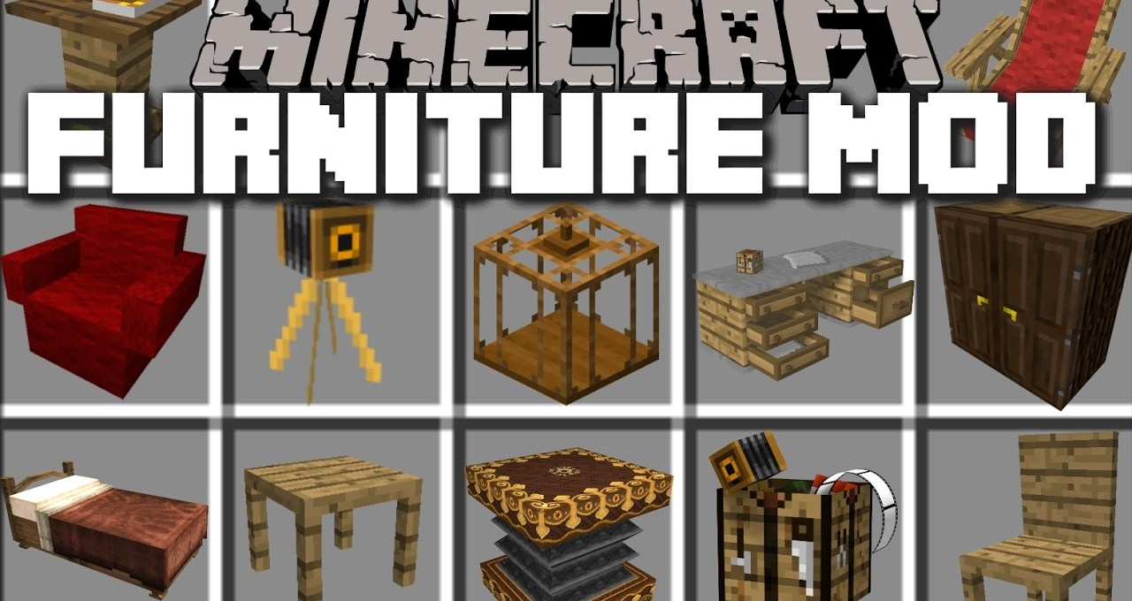 Furniture Mods For Minecraft